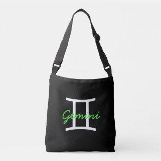 Bolsa Ajustável Saco preto, do branco e do verde limão dos Gêmeos