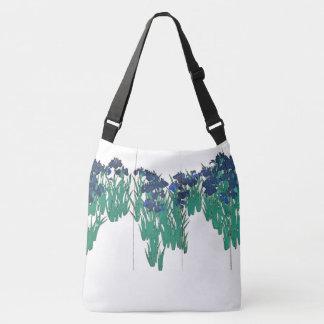 Bolsa Ajustável Sacola asiática da arte da tela do jardim de