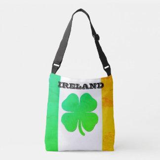 Bolsa Ajustável Sacola com bandeira e o trevo irlandeses