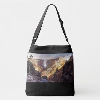 Bolsa Ajustável Sacola da cachoeira de Thomas Moran Yellowstone
