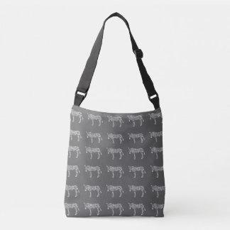 Bolsa Ajustável sacola da zebra