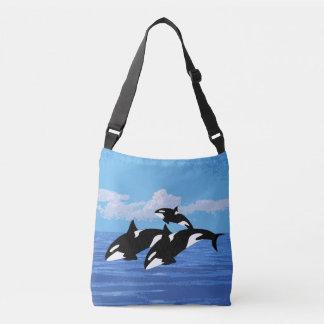 Bolsa Ajustável Sacola das orcas