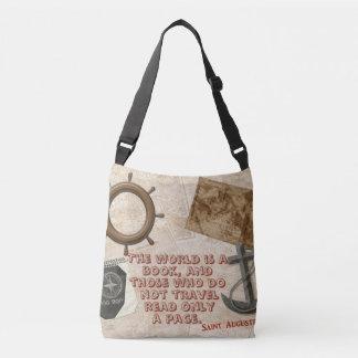 Bolsa Ajustável Sacola do desenhista dos amantes do viagem
