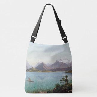 Bolsa Ajustável Sacola do ombro de Wakatipu do lago new Zealand