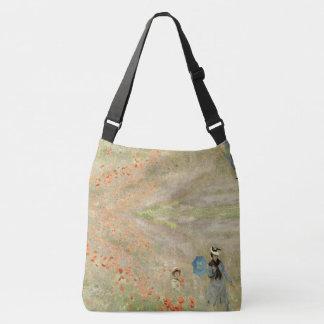 Bolsa Ajustável Sacola dos Wildflowers da papoila de Monet do