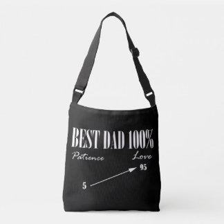 Bolsa Ajustável Sacola Funky do pai da melhor paciência do amor do