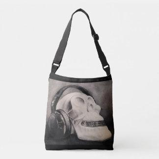 Bolsa Ajustável Sacola transversal do corpo dos fones de ouvido do