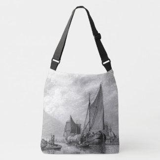 Bolsa Ajustável Sacola velha de Inglaterra dos barcos de pesca de