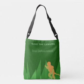 Bolsa Ajustável Salvar os Lemurs