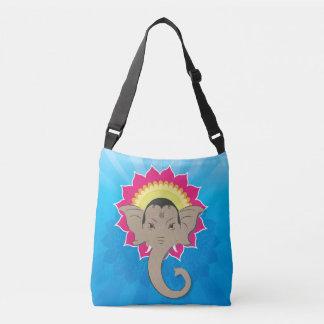 Bolsa Ajustável Senhor Ganesha Digital Ilustração com mandala