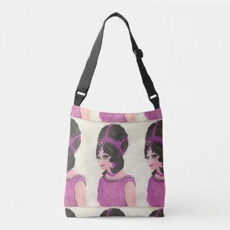 Bolsa Ajustável Senhora cor-de-rosa