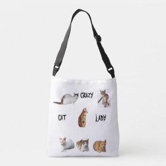 Bolsa Ajustável Senhora louca do gato