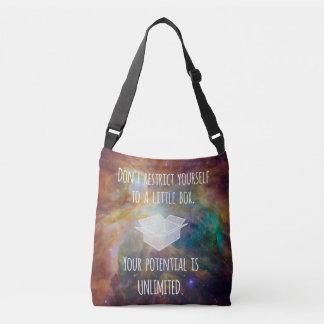 Bolsa Ajustável Seu potencial é nebulosa ilimitada da galáxia das