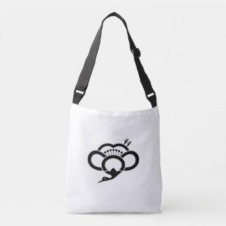 Bolsa Ajustável Shadowed guindaste-deu forma à flor da ameixa