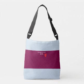 Bolsa Ajustável sira de mãe à chave a minha sacola do coração