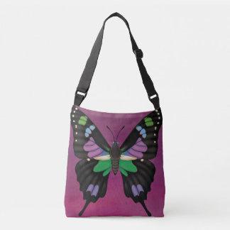 Bolsa Ajustável Swallowtail manchado roxo