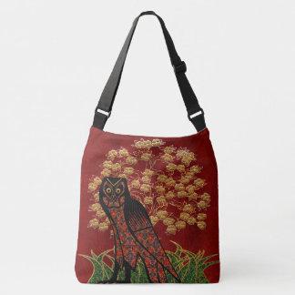 Bolsa Ajustável Tapeçaria da coruja