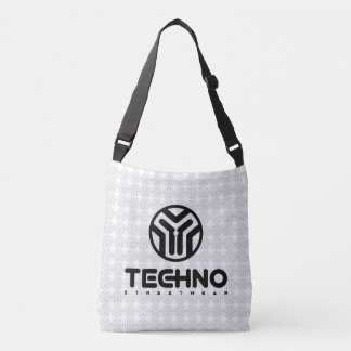 Bolsa Ajustável Techno Streetwear - logotipo - saco para o