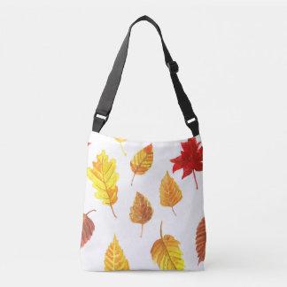 Bolsa Ajustável Teste padrão das folhas de outono