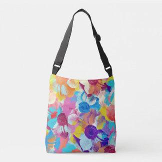 Bolsa Ajustável Teste padrão floral colorido com flores da anêmona