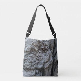 Bolsa Ajustável Textura abstrata do tronco de árvore