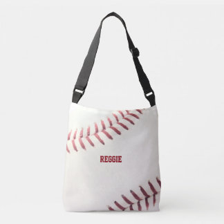 Bolsa Ajustável Textura do basebol personalizada