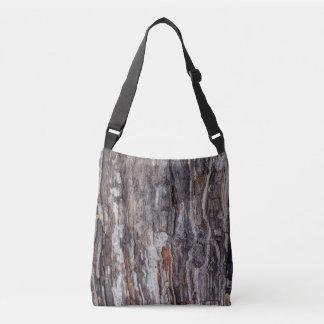 Bolsa Ajustável Textura do latido de árvore