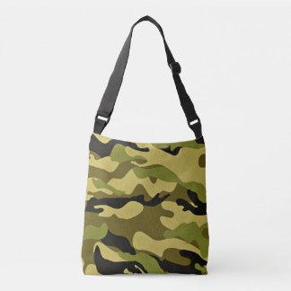 Bolsa Ajustável Textura verde do exército da camuflagem