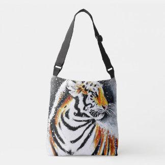 Bolsa Ajustável Tigre na neve noir