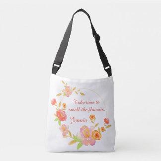 Bolsa Ajustável Tome o tempo cheirar o saco das flores