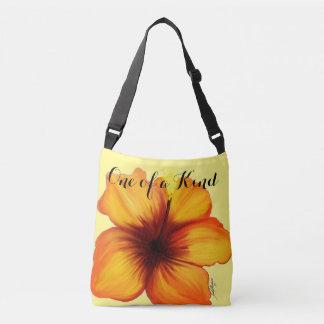 Bolsa Ajustável Um de um saco amável do hibiscus