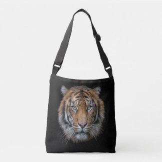 Bolsa Ajustável Uma cara selvagem do tigre de Bengal