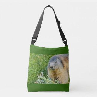 Bolsa Ajustável uma marmota em toda sobre - imprima o saco para o
