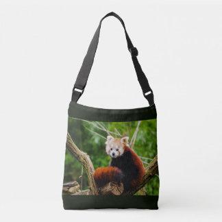 Bolsa Ajustável Urso de panda vermelha bonito