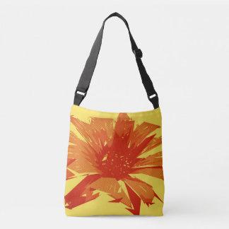 Bolsa Ajustável Verão floral abstrato Duotone
