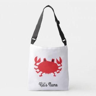 Bolsa Ajustável Vermelho do caranguejo do mar