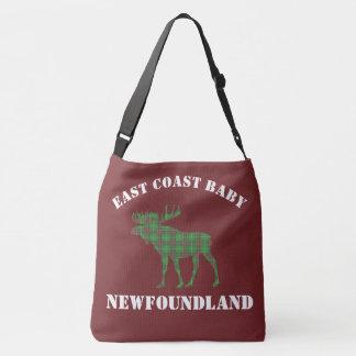 Bolsa Ajustável Vermelho do saco do tartan de Terra Nova dos alces
