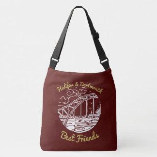 Bolsa Ajustável Vermelho do saco dos melhores amigos de Halifax