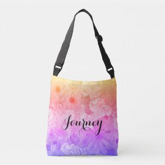 Bolsa Ajustável Viagem floral Pastel de Boho das flores do por do