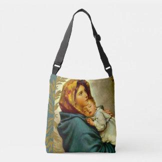 Bolsa Ajustável Virgin Madonna Mary com bebê Jesus