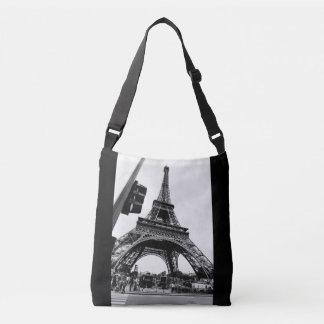 Bolsa Ajustável Vista ocasional da torre Eiffel - simples e à moda