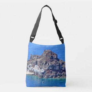 Bolsa Ajustável Vista panorâmica de Santorini