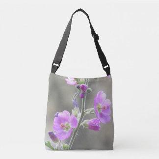 Bolsa Ajustável Wildflowers cor-de-rosa do Mallow de globo
