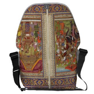Bolsa Carteiro Arte muçulmana islâmica de Boho do Islão de India