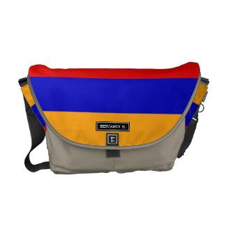 Bolsa Carteiro Bandeira arménia