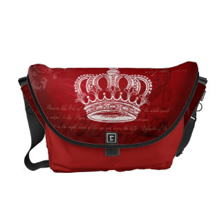 Bolsa Carteiro Bloodline real - vermelho