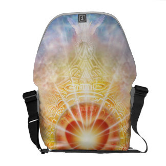Bolsa Carteiro Coração H038 celestial