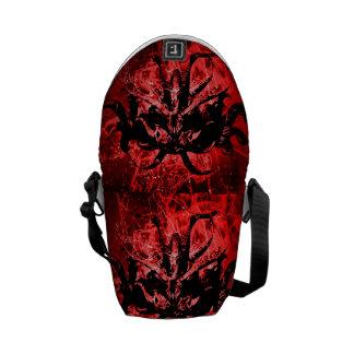 Bolsa Carteiro Máscara tribal assustador