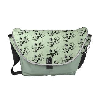 Bolsa Carteiro Pássaros em Tao sobre