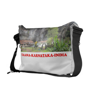 Bolsa Carteiro saco da foto do lugar do turista de karnataka